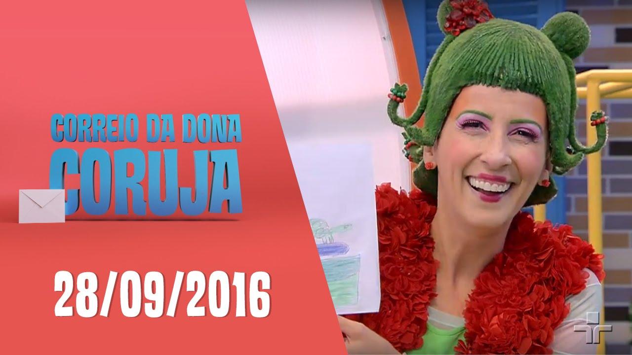Correio da Dona Coruja - 28/09/2016