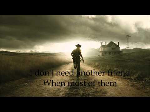 Wye Oak - Civilian (Lyrics video - The walking dead Music / 18 Miles out)