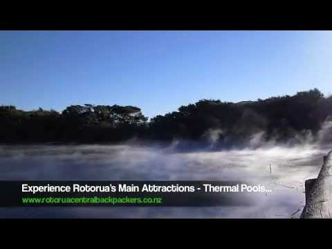 Wideo Rotorua Central Backpackers