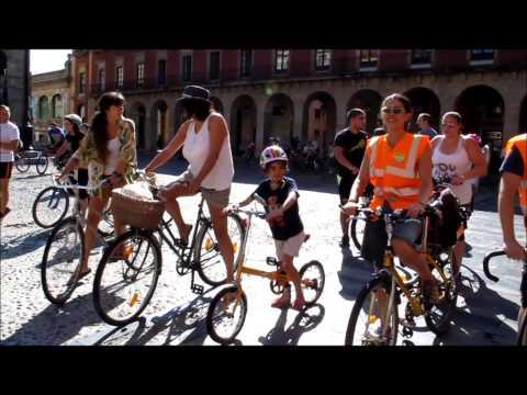 Marcha por la movilidad 2014 de Asturies ConBici. 21 septiembre
