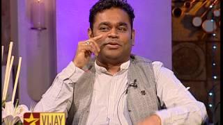Vijay Tv Show Koffee with DD - AR Rahman,Dulquar Salman and Manirathnam  19-05-15 Promo  Part 1