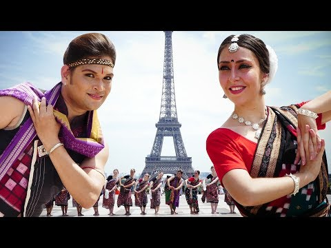Video Sambalpuri dance at the Eiffel Tower (Paris, France) | Rasarkeli Bo download in MP3, 3GP, MP4, WEBM, AVI, FLV January 2017