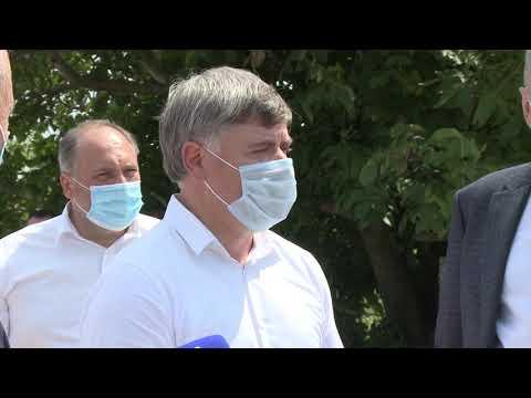 Şeful statului a inspectat construcția drumului din satul Onițcani, raionul Criuleni şi satul Holercani, raionul Dubăsari
