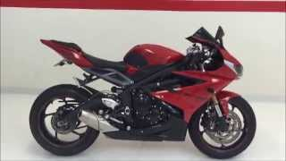 10. 2014 Triumph Daytona 675 (ABS) BRAND NEW CONDITION