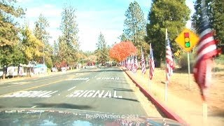 Paradise (CA) United States  City pictures : Parade Of Flags in Paradise, CA.