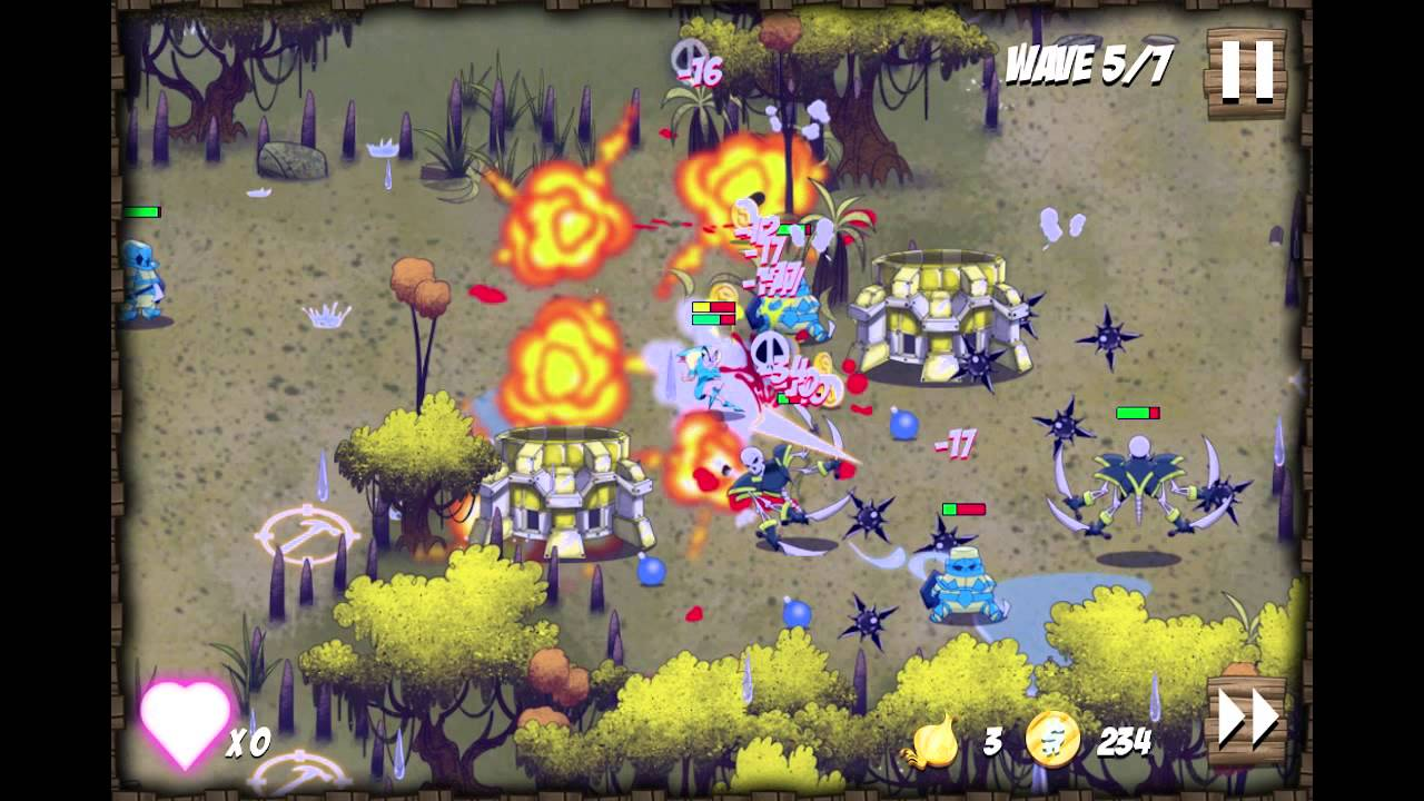 Freebie Alert: Disney-esque Action Tower Defense Game 'Onion Force' Currently Free