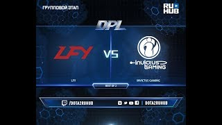 LFY vs Invictus Gaming, DPL 2018, game 1 [Adekvat, Smile]