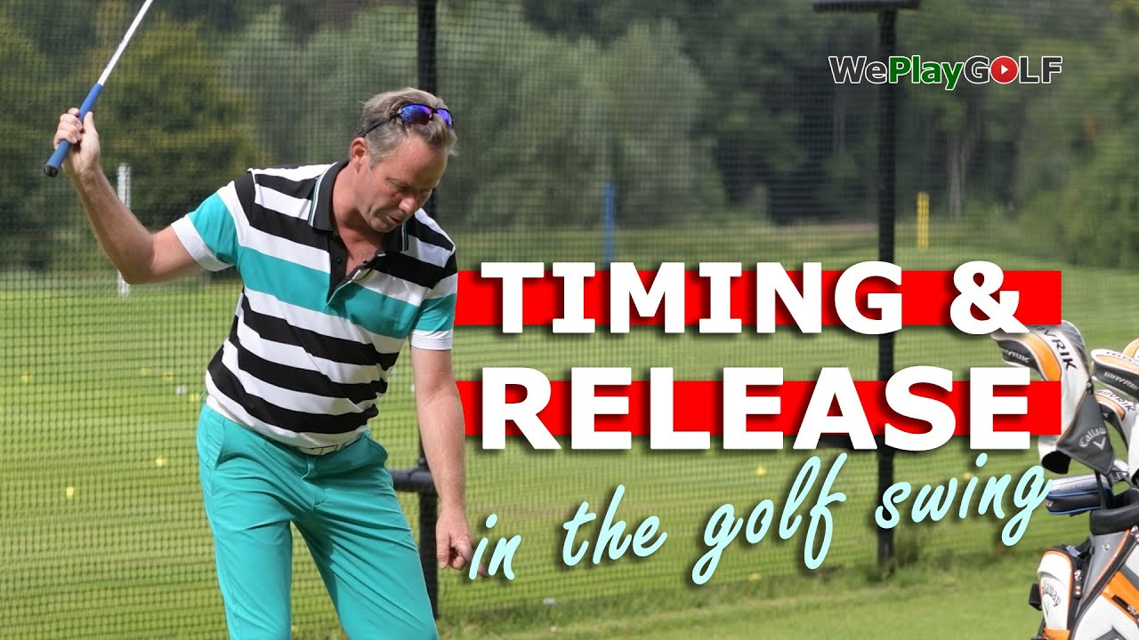 Timing and release in the golf swing - An easy golf practice to improve your golf swing