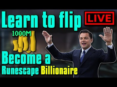 Learn to Flip in OSRS LIVE! - Flipping Guide / Money making - Stream #163
