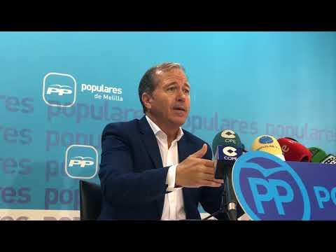 """Exigiremos al PSOE, que """"se lleven a cabo todos los proyectos del PP previstos para Melilla"""""""