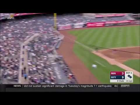 Toddler Gets DRILLED By A Line Drive at Yankee Stadium