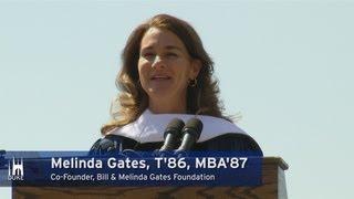 Melinda Gates' Graduation Speech at Duke University
