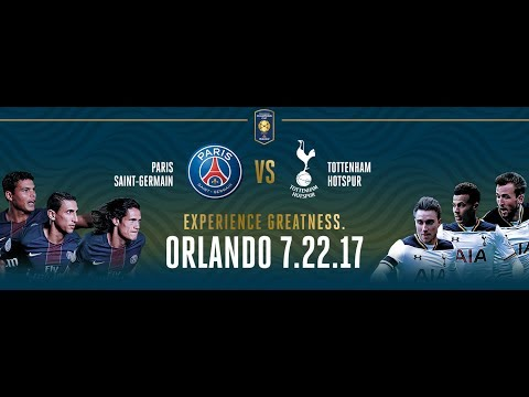 ទស្សនា Highlights & Goals PSG vs Tottenham Hotspur (2-4) 22 July 2017