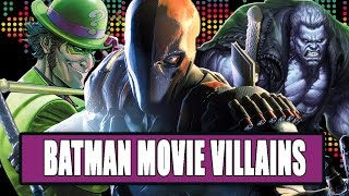 7 Villains We'd Like To See In The Batman Movie by Clevver Movies