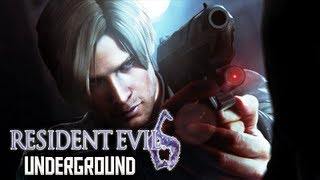 Resident Evil 6 Walkthrough - DEMO Leon Kennedy Underground Gameplay