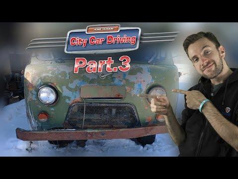 SNĚHOVÉ PROBLÉMY | City Car Driving #03