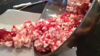 How to make jello popcorn!! - YouTube