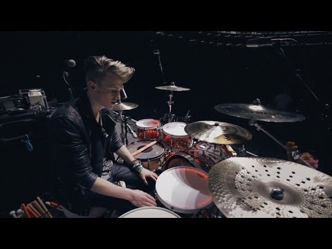 The Vamps - Tristan Evans Kit Walkthrough [SJC + Sabian]