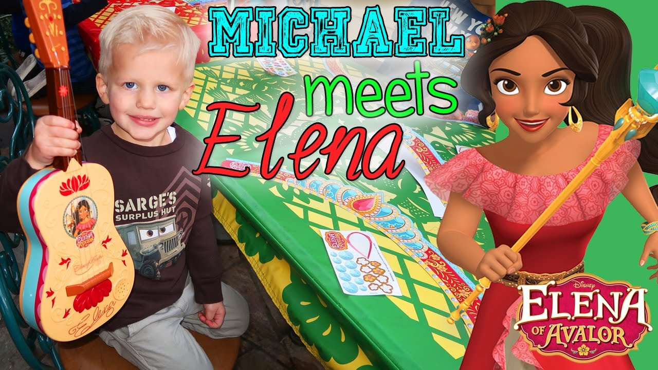 Elena of Avalor Signed Michael's Guitar!!!!