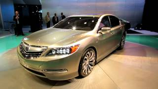 Acura RLX Concept Exterior At 2012 New York International Auto Show NYIAS