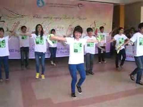 GCBU nhảy dân vũ - Trống cơm - chào mừng ngày 8/3