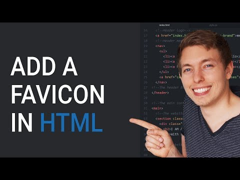 Add A Favicon To A Website In HTML | Learn HTML And CSS | HTML Tutorial | HTML For Beginners