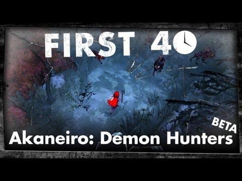 Akaneiro: Demon Hunters (Beta Gameplay)