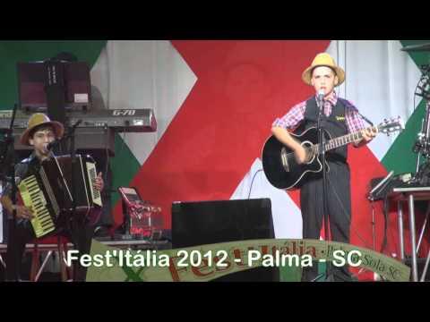 2012 fest italia palma sola sc infantil fradei grando iraceminha sc valsugana