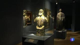 La catedral de Sigüenza, en Guadalajara, acoge desde el 8 de junio  de 2016 la exposición Atempora. Miguel de Cervantes y Shakespeare se convierten en el hilo conductor de esta muestra que recuerda el cuarto centenario de la muerte de ambos genios.