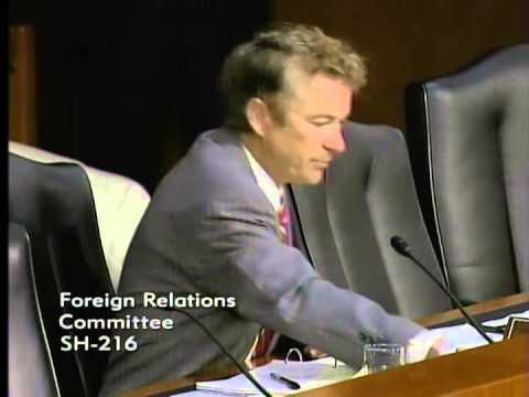 SEC - Sen. Rand Paul questions Secretary of State John Kerry on U.S. ISIS strategy at SFRC hearing.