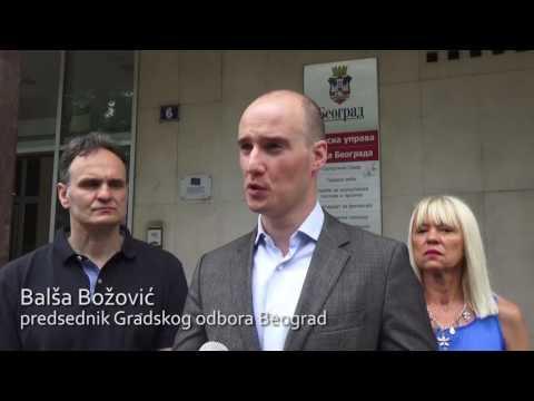 Балша Божовић, Београд у хаосу, избори једино решење