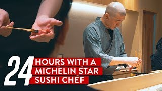 Video 24 Hours With A Michelin Star Sushi Chef: Sushi Kimura MP3, 3GP, MP4, WEBM, AVI, FLV Agustus 2019