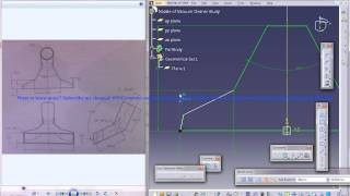 Catia V5 Tutorial|Product Engineering|How Create Nozzle of Vacuum Cleaner(Easy Steps Beginners)|P1
