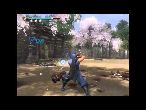 Ninja Gaiden Sigma 2 MN Playthrough chapter 2 (OLB, no-Ninpo, no-Items, no-UT)