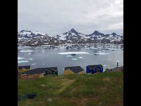 Nature in the summer in Greenland If you want to experience peaceful land you can experience beautif