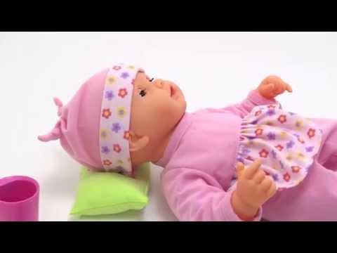 Sweet Dreams Baby Doll INTERACTIVE TOY for GIRLS SLEEPING be BRUSHES