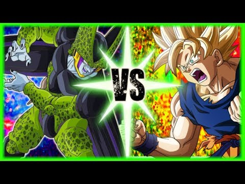 Chipart - Perfect Cell Vs Goku (Cell Vs Chi-Chi Part 2)