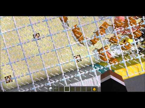 Minecraft - Blazes Vs. Snow Golems (?)