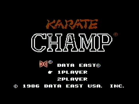 karate champ nes bull