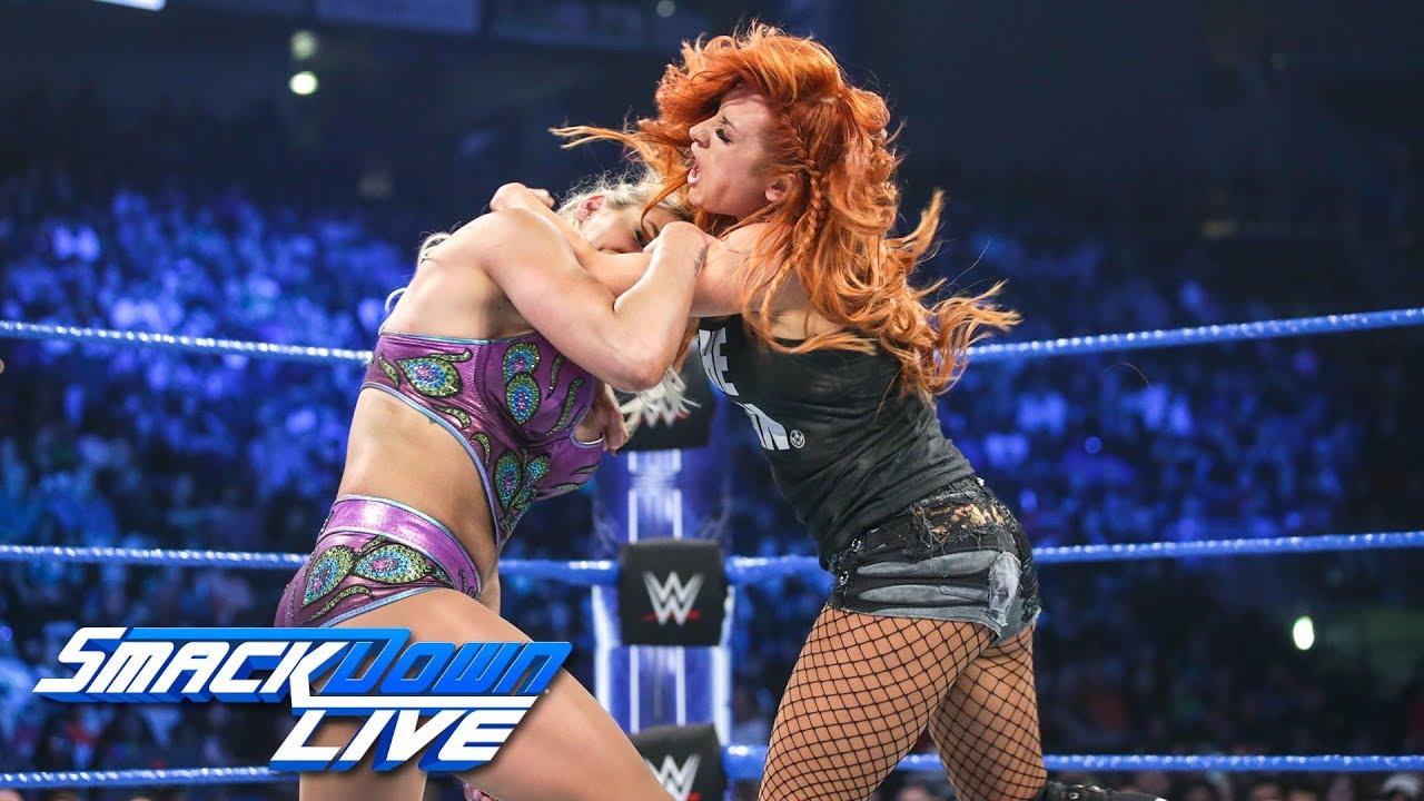 Flair vs. Lynch vs. Carmella - Winner faces Asuka at Royal Rumble: SmackDown LIVE, Jan. 8, 2019