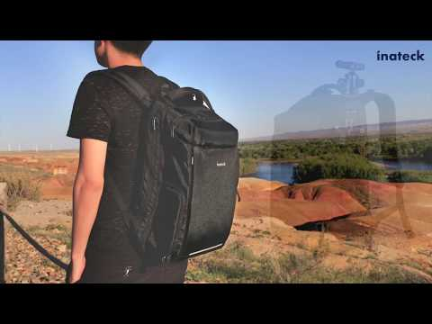 Inateck Multifunctional Daypack AB02002, Camera/ Laptop/Travel Backpack 3 IN 1