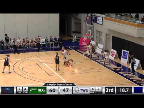 WBB vs. Regina - Jan. 10, 2015