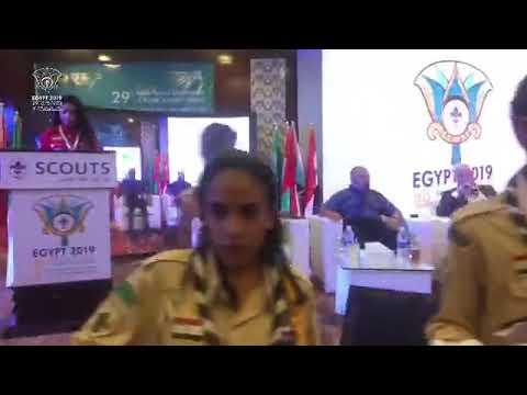 حفل افتتاح المؤتمر الكشفي العربي الـ 29 في شرم الشيخ