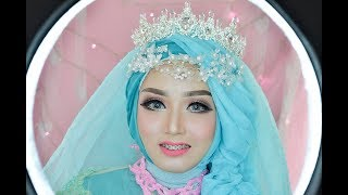 Video tutorial MAKEUP WEDDING ala BARBIE | wedding Kekinian | RindyNellaKrisna MP3, 3GP, MP4, WEBM, AVI, FLV April 2018