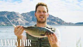 Video Chris Pratt Cleans and Guts A Fish | Vanity Fair MP3, 3GP, MP4, WEBM, AVI, FLV Juni 2018