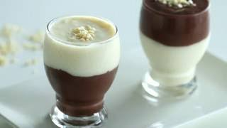 Vanilla and Chocolate Pudding Recipe Video