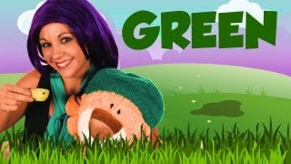 Learn Colors with Tayla, Color Green, Colors for Kids