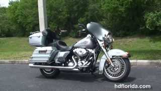4. Used 2010 Harley Davidson Electra Glide Classic Motorcycles for sale - Tarpon, FL