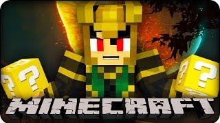 Minecraft - LUCKY BLOCK BOSS CHALLENGE - EVIL LOKI ! (Lucky Block Mod / SuperHero Mod)