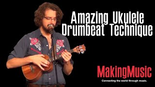 Video Amazing Ukulele Drumbeat Technique MP3, 3GP, MP4, WEBM, AVI, FLV Juli 2018
